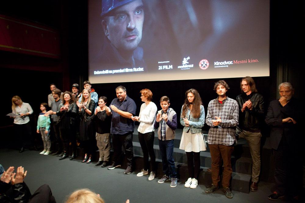 Premiera filma Rudar v prisotnosti filmske ekipe