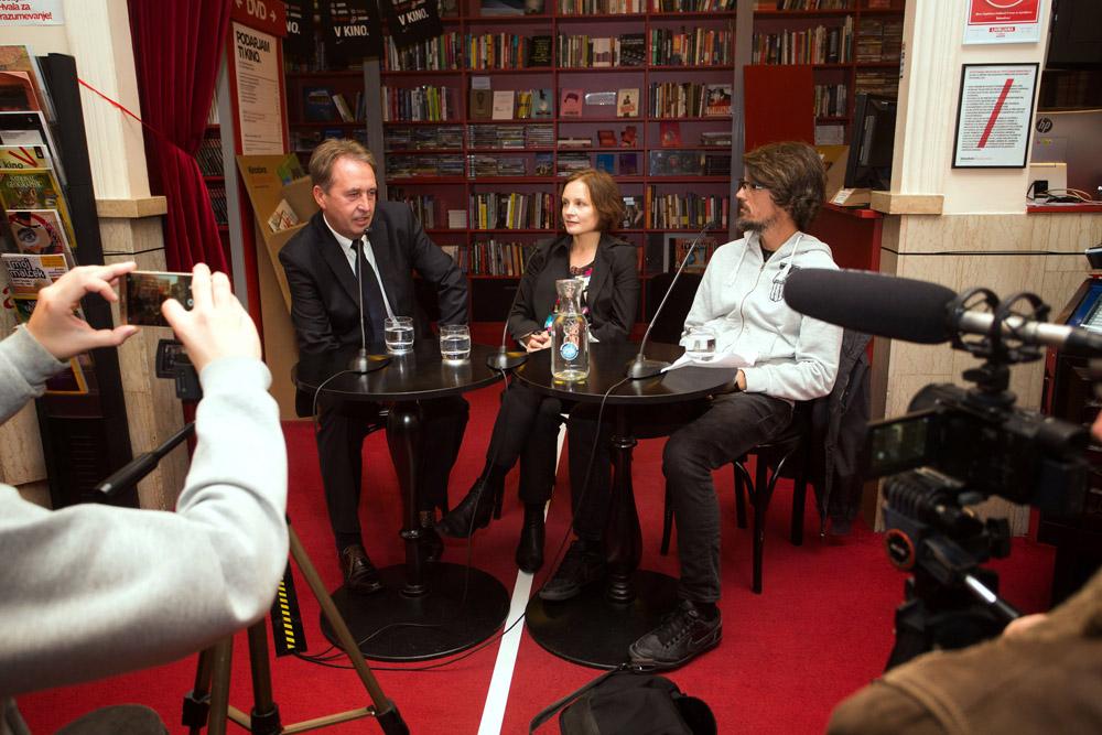Pogovor po filmu: Boštjan Videmšek, Hanna Slak in Mehmedalija Alić
