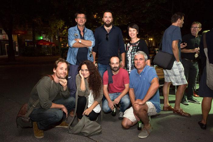 Na premieri filma nas je obiskal igralec Sakari Kuosmanen