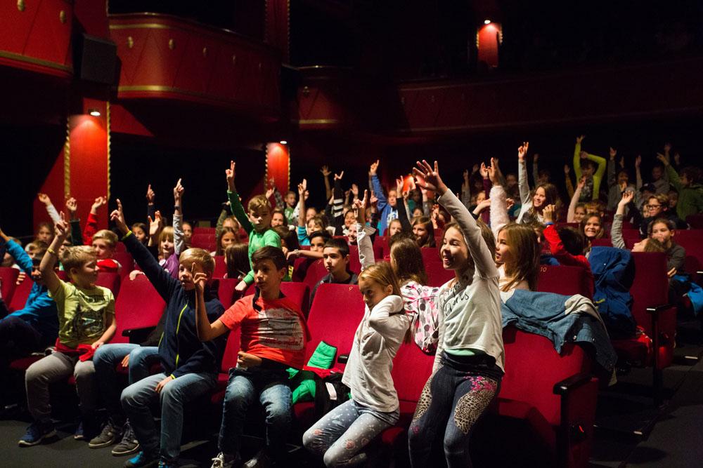 S šolo v kino? Jaaaaa!