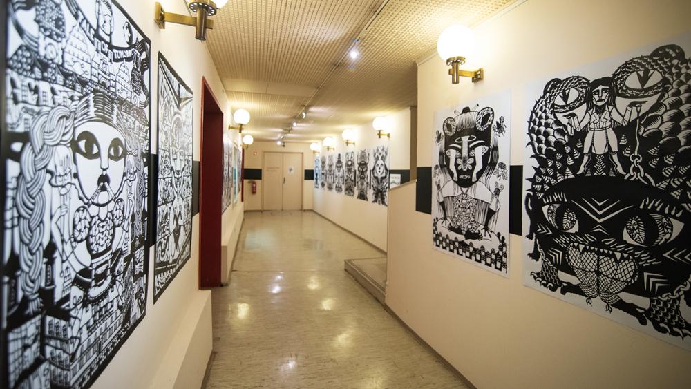 Caroline Sury: Voodoo Entartete Kunst: strip, risba, grafika …