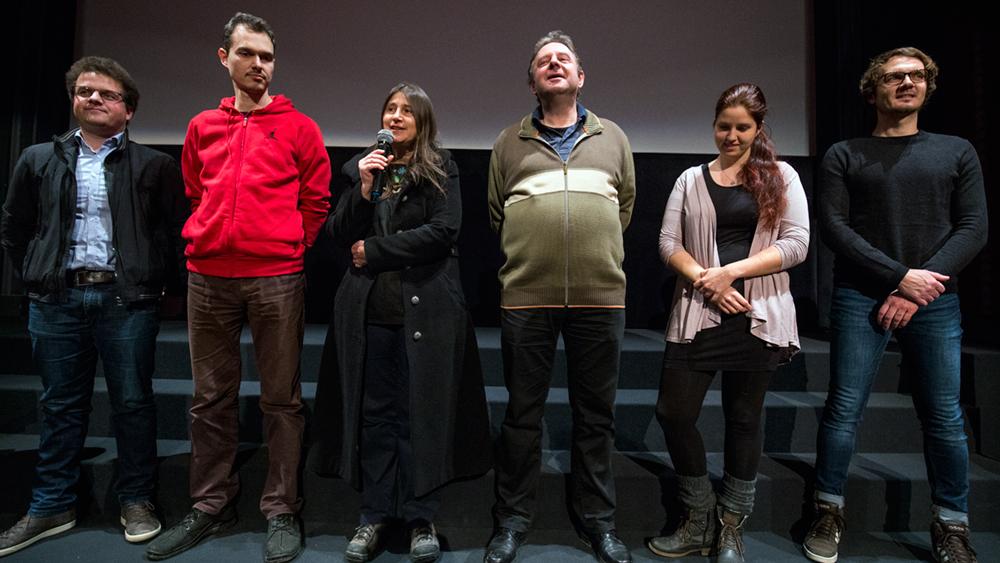 Utrinki s premiere filma Fant z oblaki