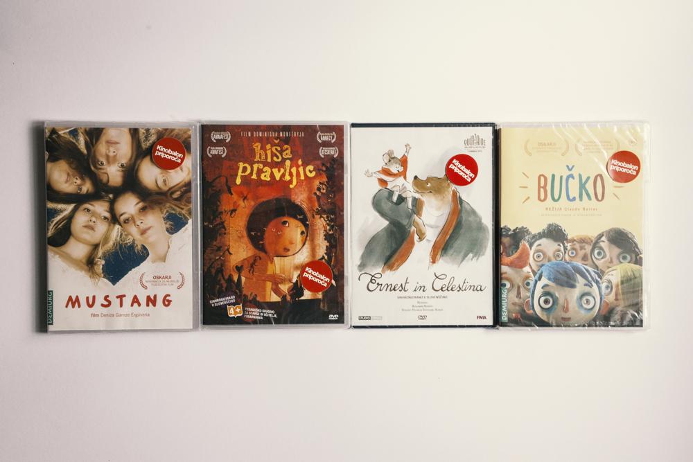 Kinobalon: seznam priporočenih DVD-jev