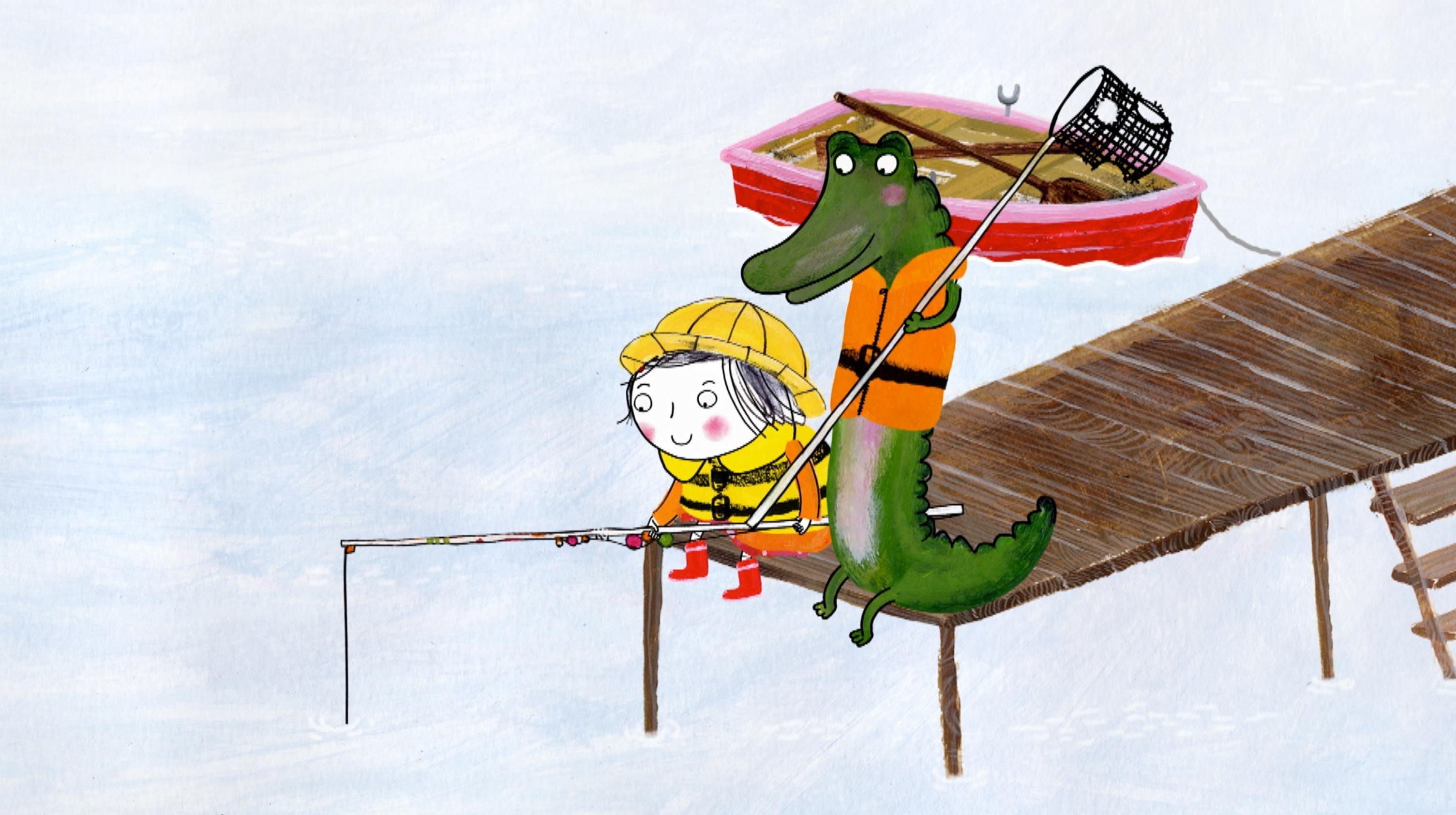 Rija in Krokodil ter Ernest in Celestinca