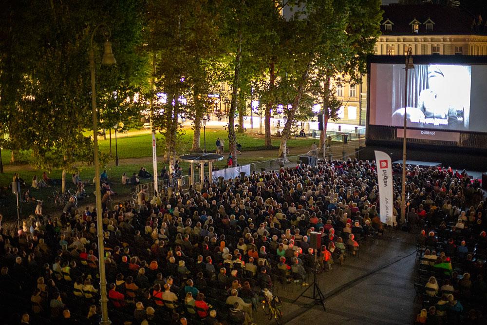 Odprtje Letnega kina na Kongresnem trgu 2018