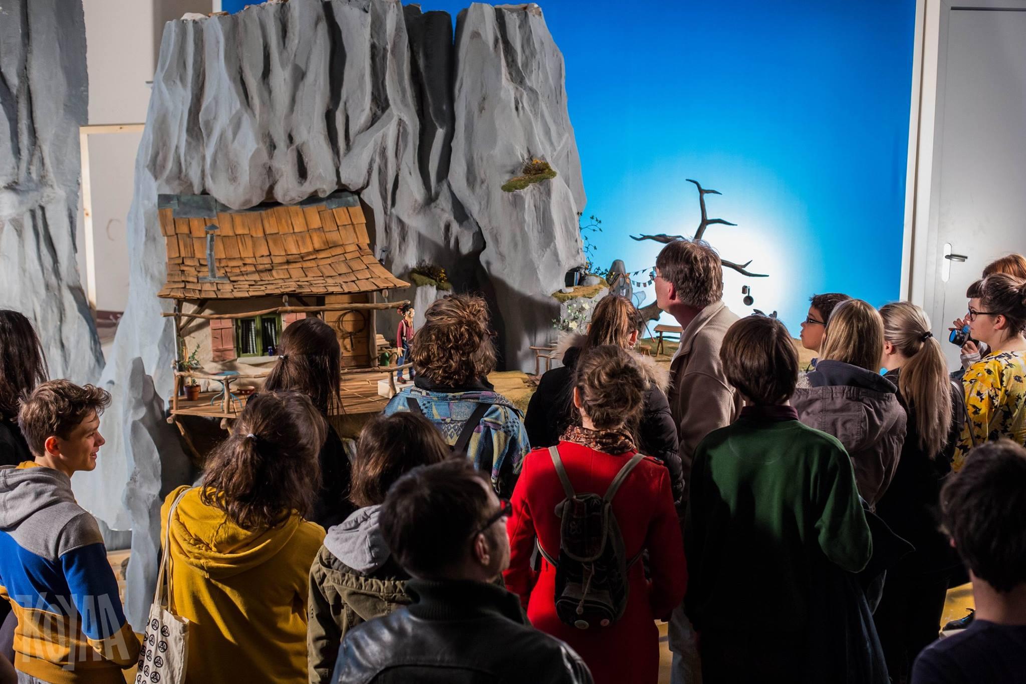 Vodeni ogled snemalnega studia Koyaa