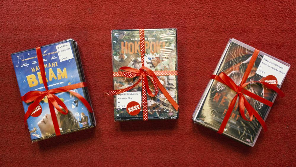 Ugodni paketi DVD-jev najlepših Kinobalonovih filmov
