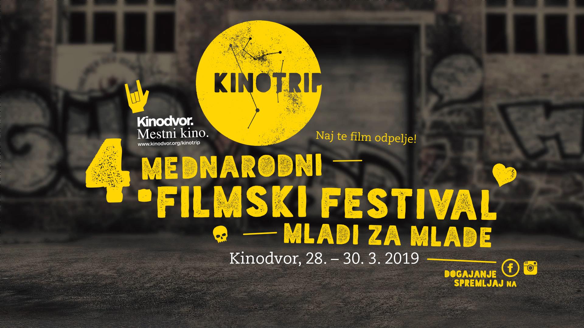 4. mednarodni filmski festival Kinotrip