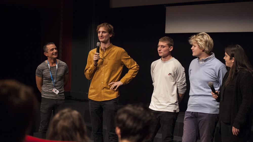 Zimske muhe: ekipa na pogovoru v Kinodvoru