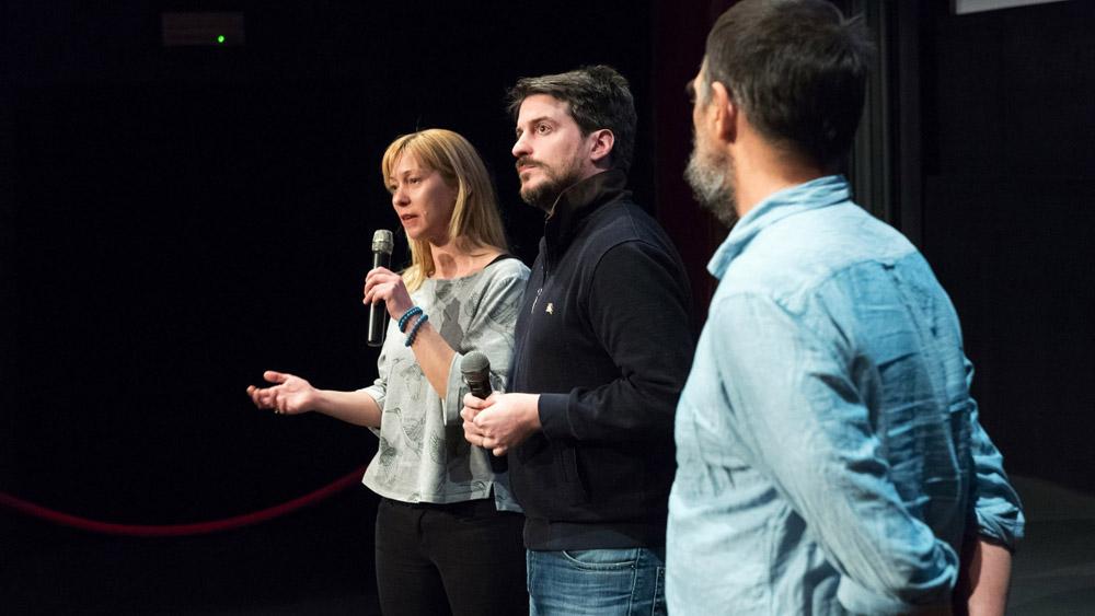 Premiera filma Tovor in pogovor z režiserjem in glavnim igralcem