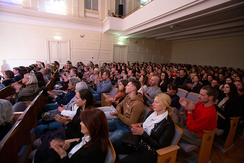 Premiera Zgodovine ljubezni v Slovenski filharmoniji