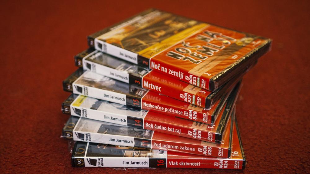 DVD paketi: Jarmusch, Bergman, Chaplin in drugi