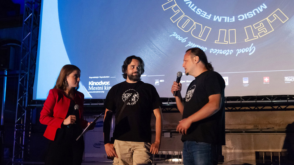 Premierna projekcija filma Kriči, Sarajevo! in pogovor z ustvarjalci