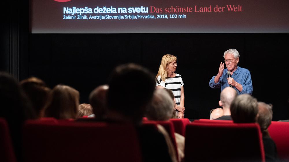 Premiera filma Najlepša dežela na svetu in pogovor z režiserjem