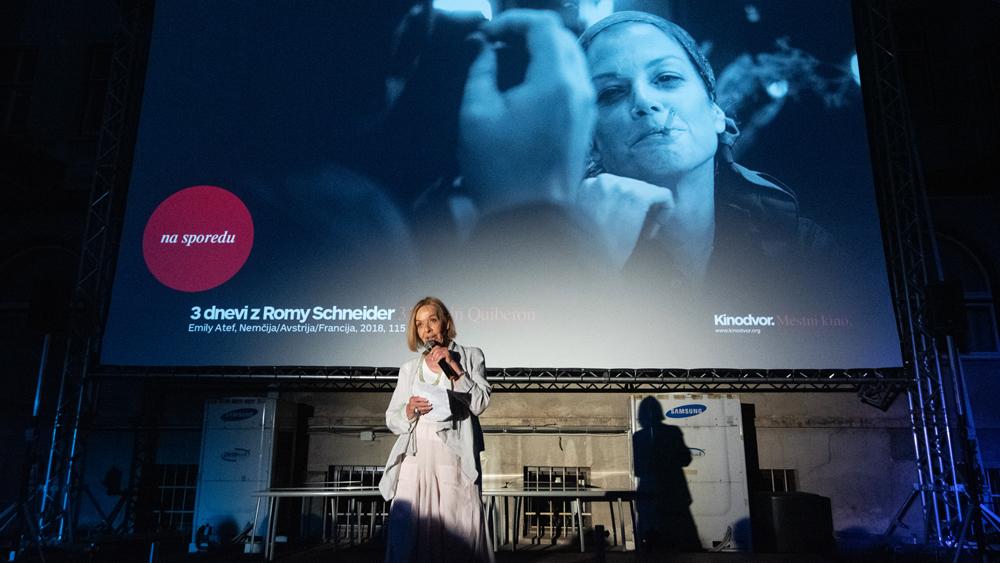 Utrinki s premiere filma 3 dnevi z Romy Schneider