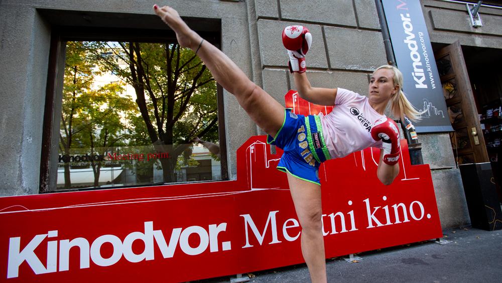 Kickboksing na premieri filma