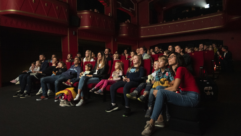 Otvoritev nove sezone programa Prvič v kino