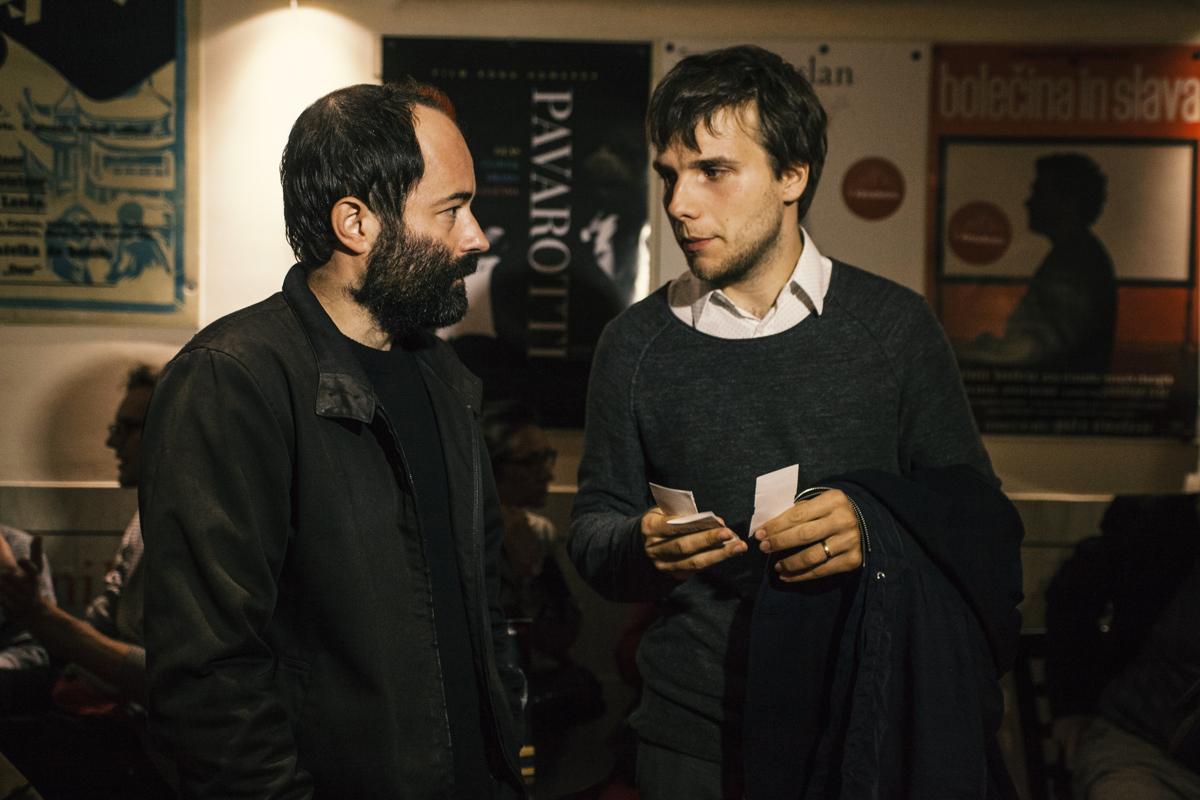 Premiera slovenskega filma Oroslan z ekipo