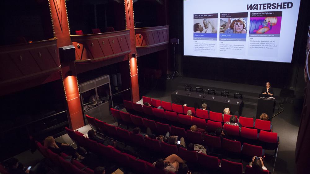 Mednarodna konferenca Ženske v kinu: foto reportaža