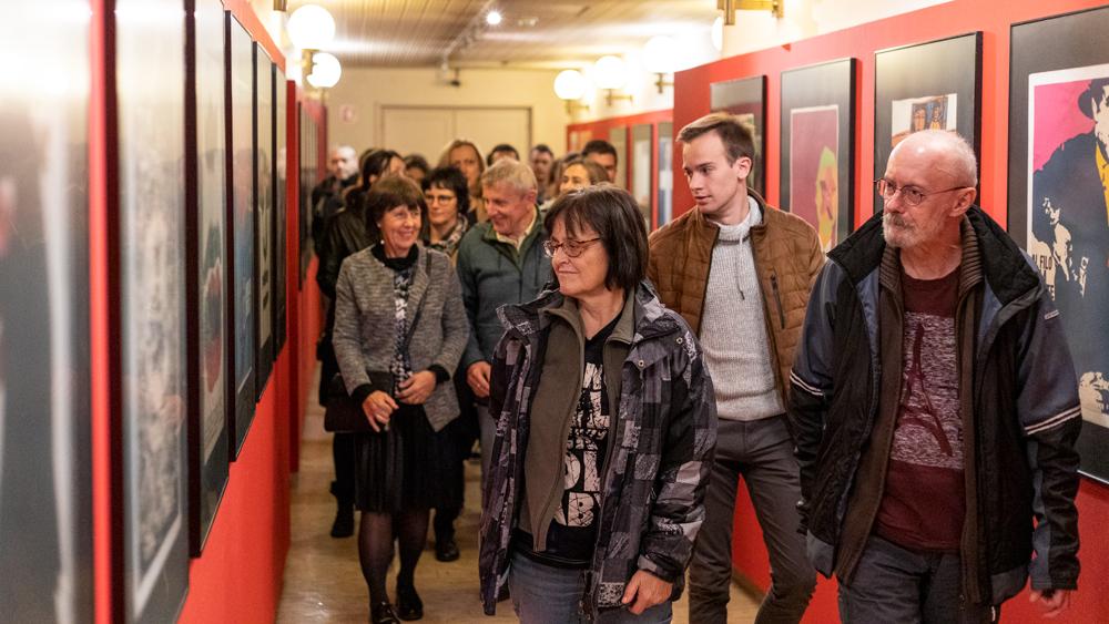 Foto utrinki s premiere filma Dober dan za delo