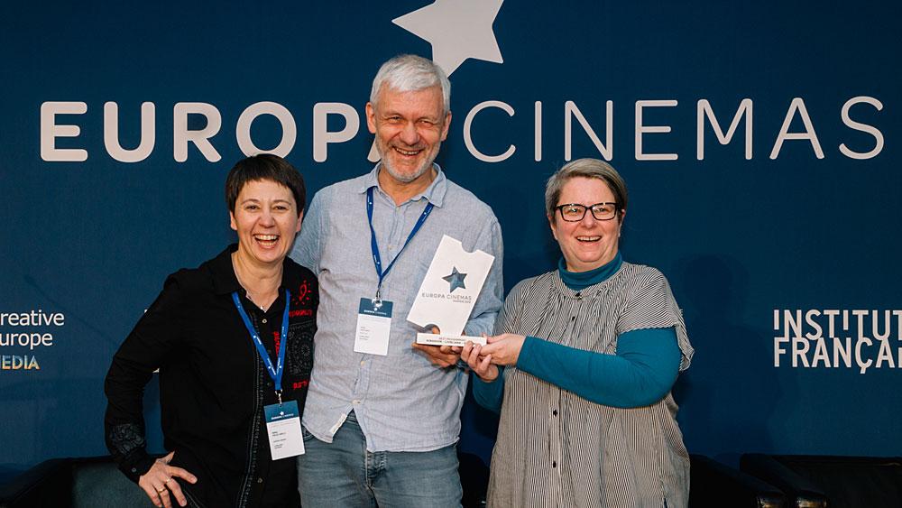 Kinodvor prejemnik nagrade Europa Cinemas za najboljši program 2019