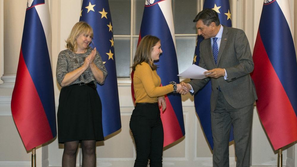 Kinotripovka Kaja je prejela priznanje predsednika države