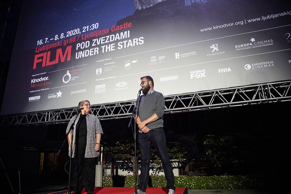 Začel se je Film pod zvezdami 2020