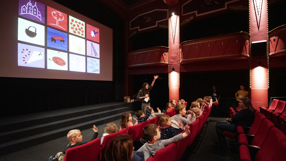 Kinodvor's Head of Schools programme at the Film Education Journal's Spring Symposium
