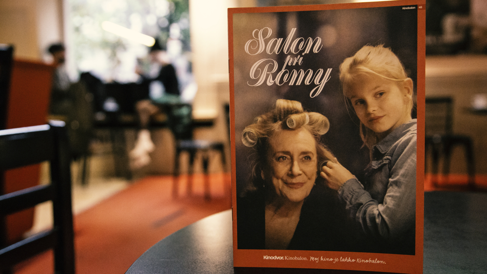 Nova Kinobalonova knjižica Salon pri Romy