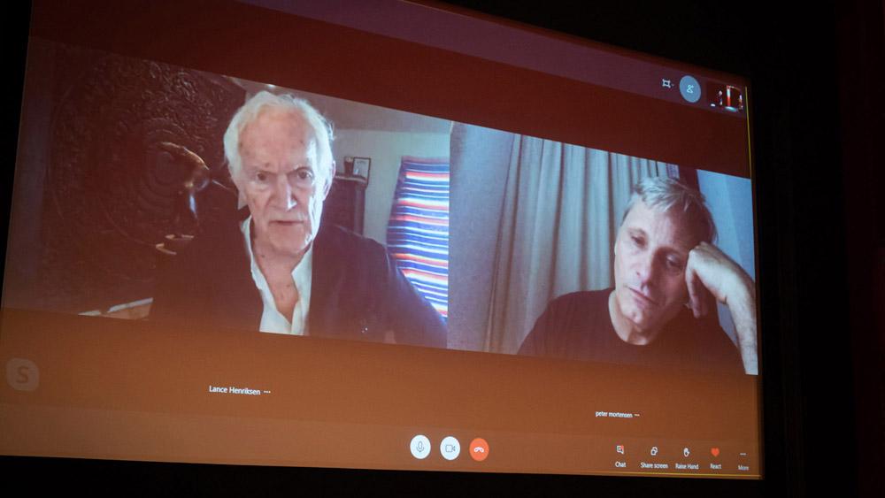 Pogovor z Viggom Mortensenom in Lanceom Henriksenom