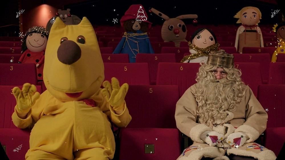 Kinobalon je tudi letos pripeljal filme v Pediatrično kliniko