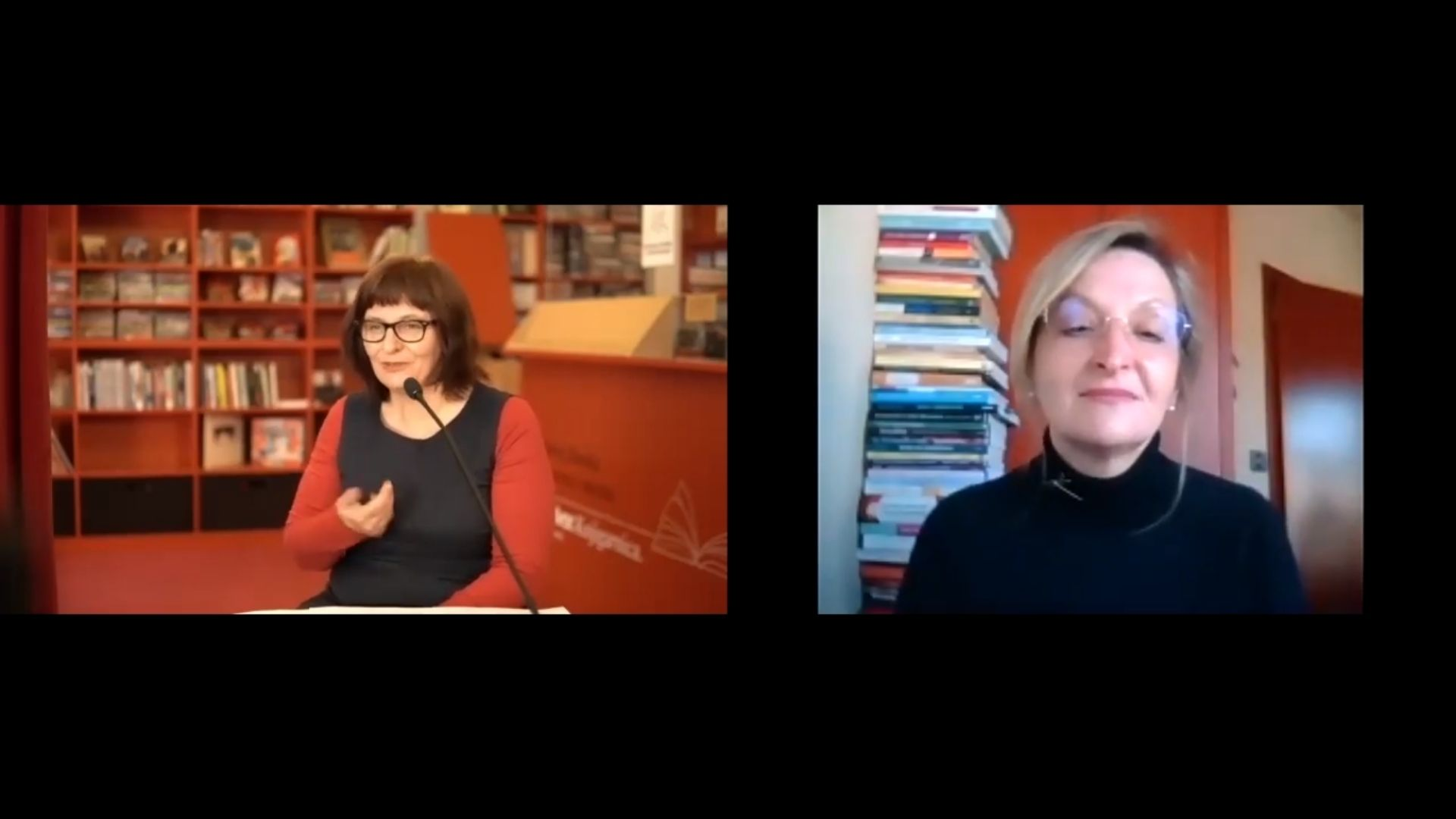 Filmska srečanja: posnetek pogovora ob filmu Pod belimi pečinami