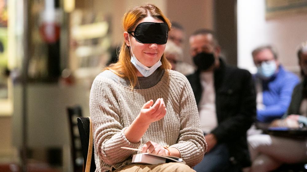 Blind food tasting izziv z Napotom