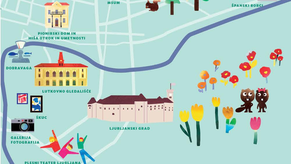 Naj vas po 13. festivalu Bobri popelje Bobrov zemljevid