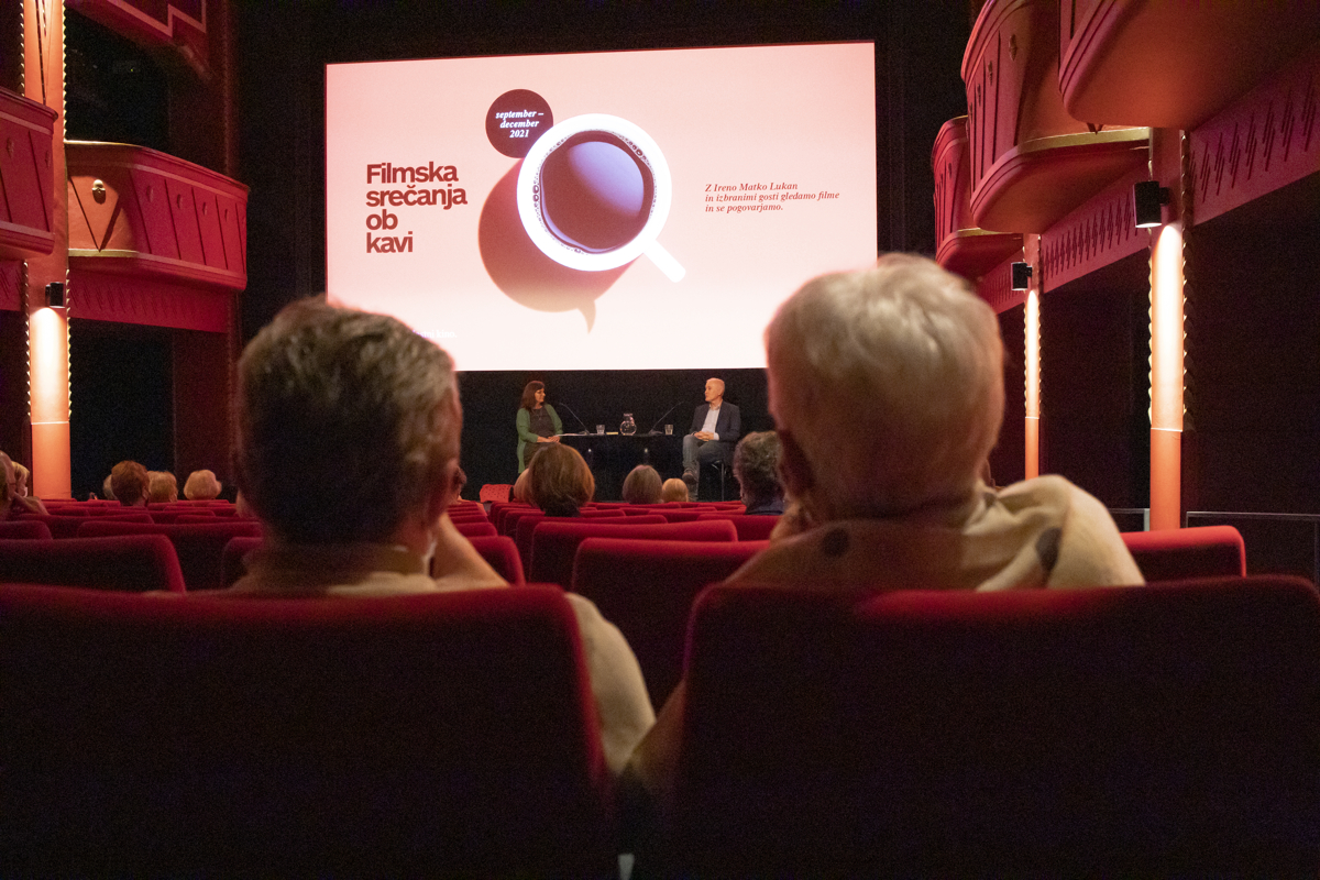 Filmska srečanja ob kavi: pogovor z Zvezdanom Pirtoškom